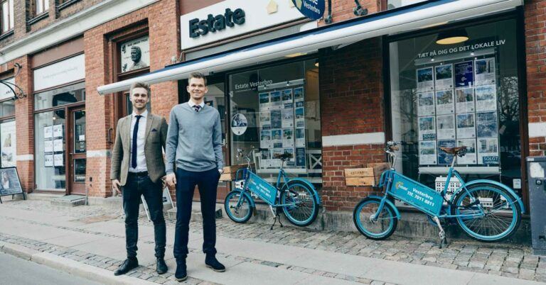 Estate Vesterbro støtter det lokale team!